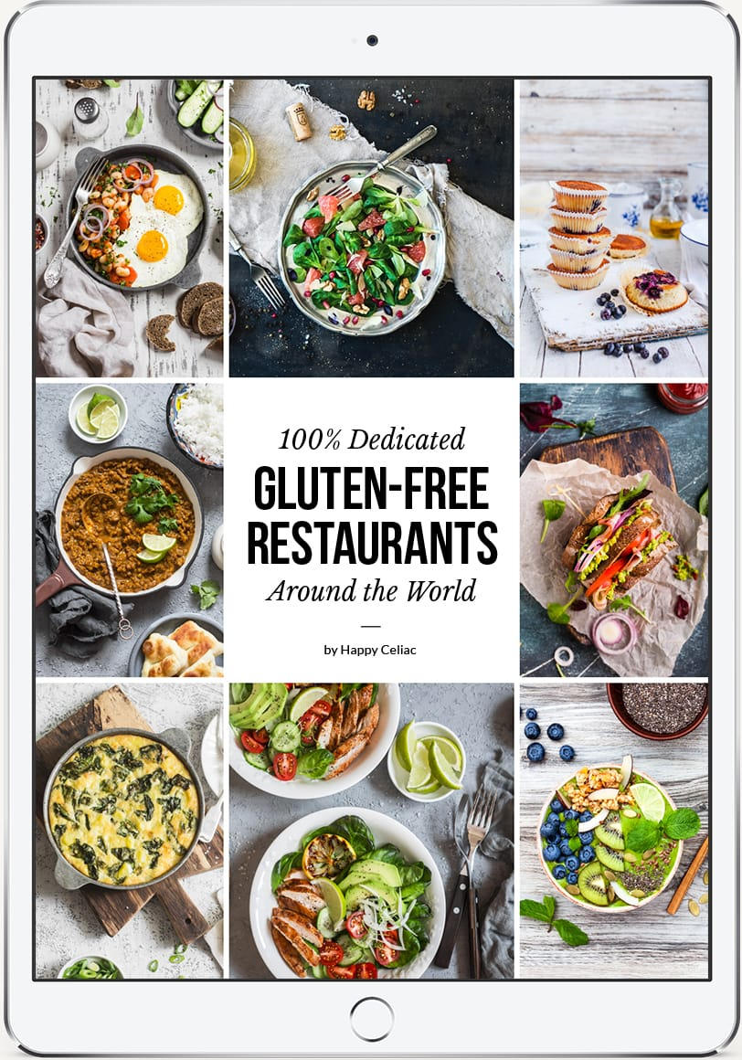 eBook: 100% Dedicated Gluten-Free Restaurants Around the World