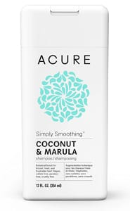 Acure Organics Coconut Shampoo and Conditioner